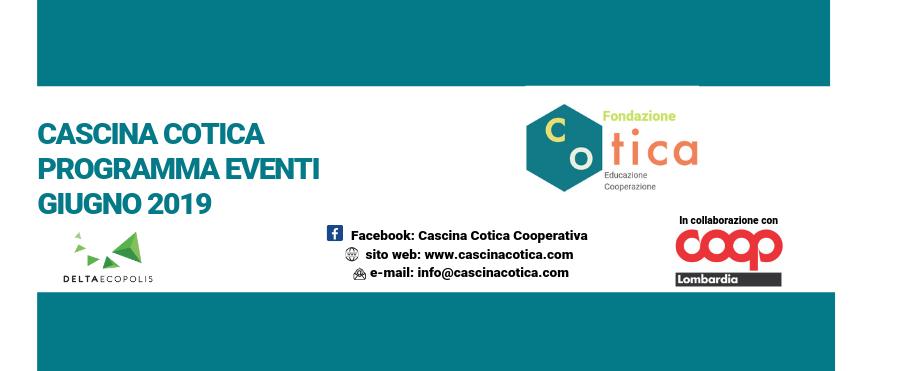 Eventi mese di giugno in Cascina Cotica