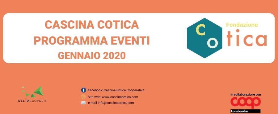 Eventi mese di Gennaio in Cascina Cotica