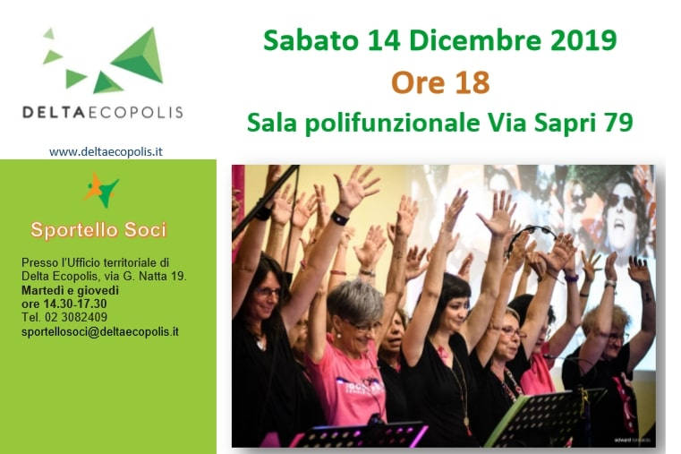 Festa con Delta Ecopolis Sabato 14 Dicembre