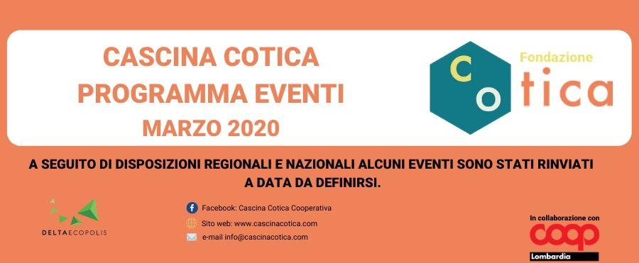 Eventi mese di Marzo in Cascina Cotica