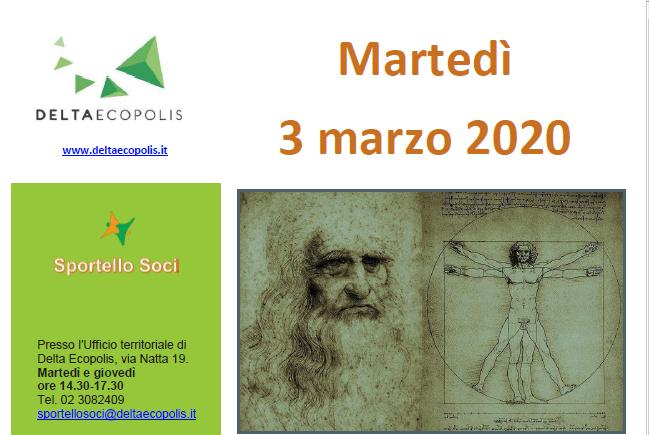 Con Delta Ecopolis Visita guidata alla mostra Leonardo