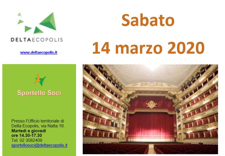 Con Delta Ecopolis, visita guidata al Teatro e Museo della Scala